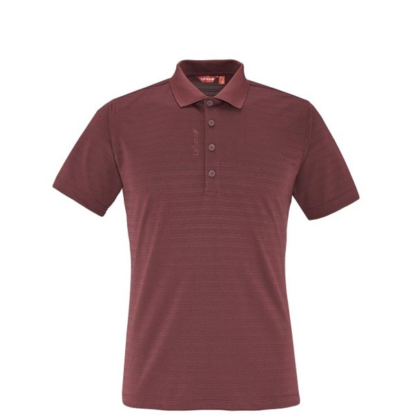 Lafuma Men hiking polo TRACK POLO Rouge On Sale