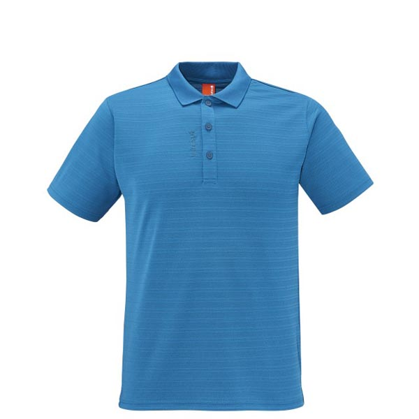 Lafuma Men hiking polo TRACK POLO Bleu On Sale