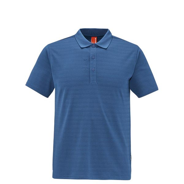 Lafuma Men TRACK POLO Bleu Outlet Store