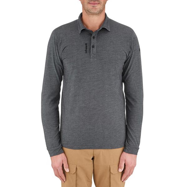 Men Lafuma travel polo shirt Oxford gris Outlet Online