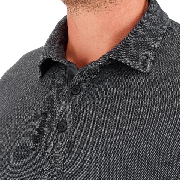Lafuma Men travel polo shirt Oxford gris On Sale