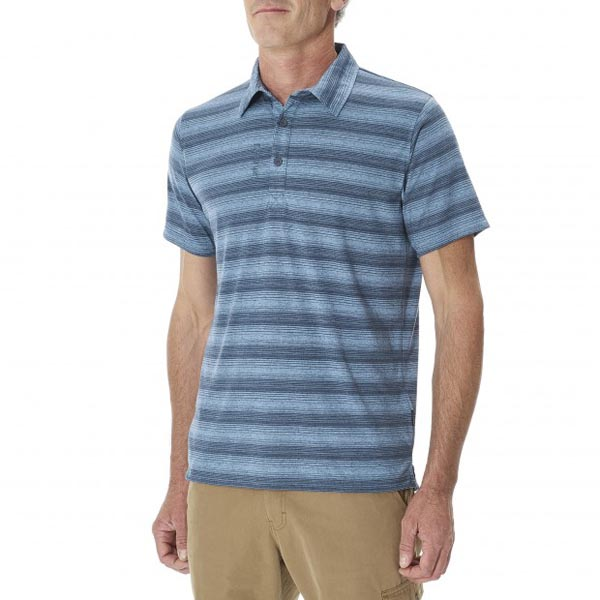 Men Lafuma travel polo ESCAPER POLO Marine Outlet Online