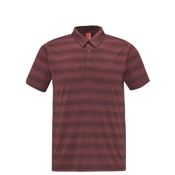 Lafuma Men travel polo ESCAPER POLO Rouge On Sale