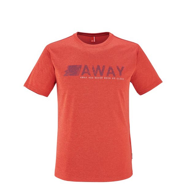 Lafuma Men hiking tee-shirt SHIFT TEE Rouge On Sale