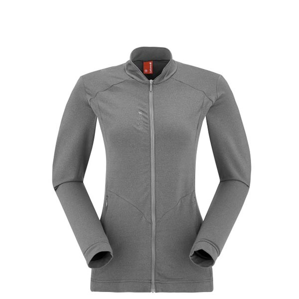 Women Lafuma travel fleece ESCAPER F-ZIP Gris Outlet Online