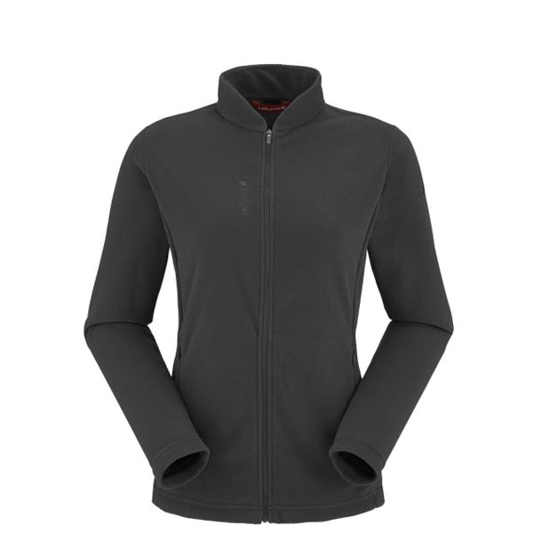 Women Lafuma hiking fleece RIB FLEECE F-ZIP Noir Outlet Online