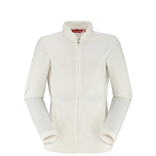 Lafuma Women hiking fleece RIB FLEECE F-ZIP Blanc On Sale