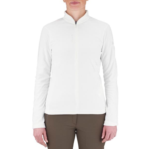 Lafuma Women hiking fleece Rib t-zip blanche On Sale