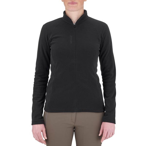 Women Lafuma hiking fleece Rib t-zip noire Outlet Online