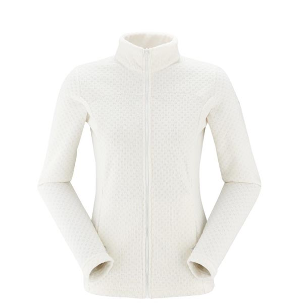 Women Lafuma fast hiking fleece TRACK FLEECE Blanc Outlet Online