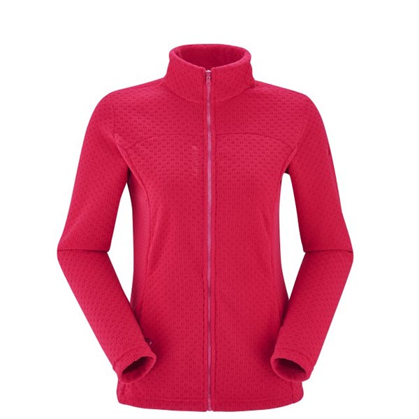 Women Lafuma fast hiking fleece TRACK FLEECE Rose Outlet Online