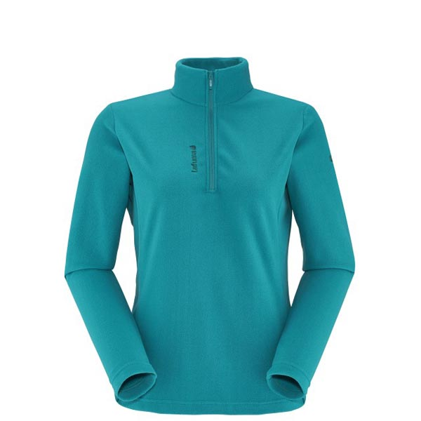 Women Lafuma hiking fleece ACCESS MICRO T-ZIP Turquoise Outlet Online