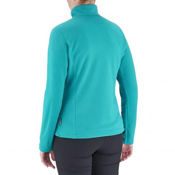 Lafuma Women hiking fleece ACCESS MICRO T-ZIP Turquoise On Sale