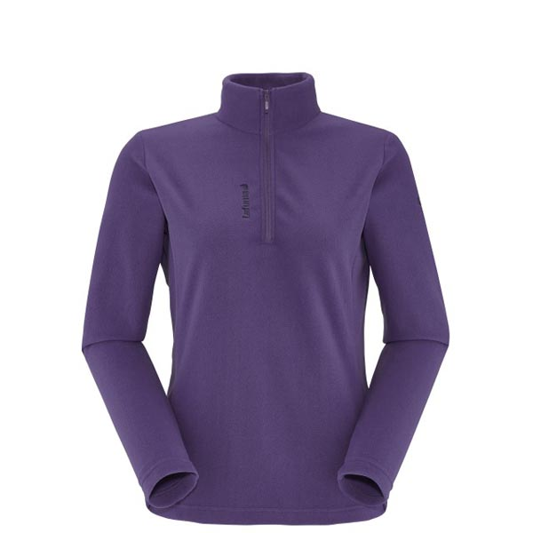 Women Lafuma hiking fleece ACCESS MICRO T-ZIP Violet Outlet Online