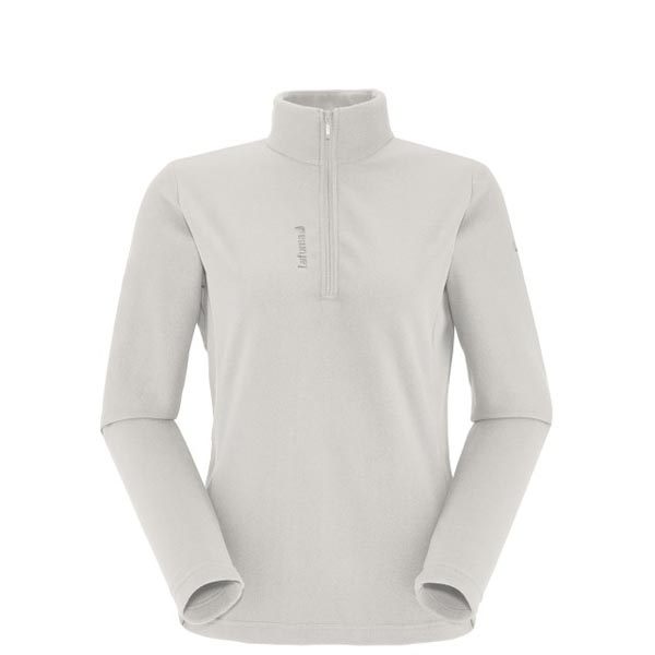 Women Lafuma hiking fleece ACCESS MICRO T-ZIP Blanc Outlet Online