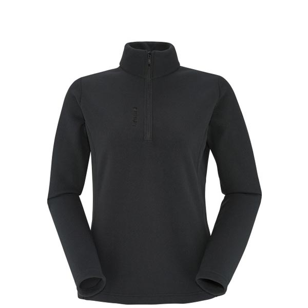 Women Lafuma hiking fleece ACCESS MICRO T-ZIP Black Outlet Online