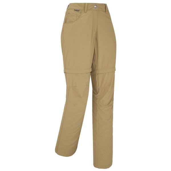 Lafuma Women hiking pant ACCESS Z-OFF Camel On Sale