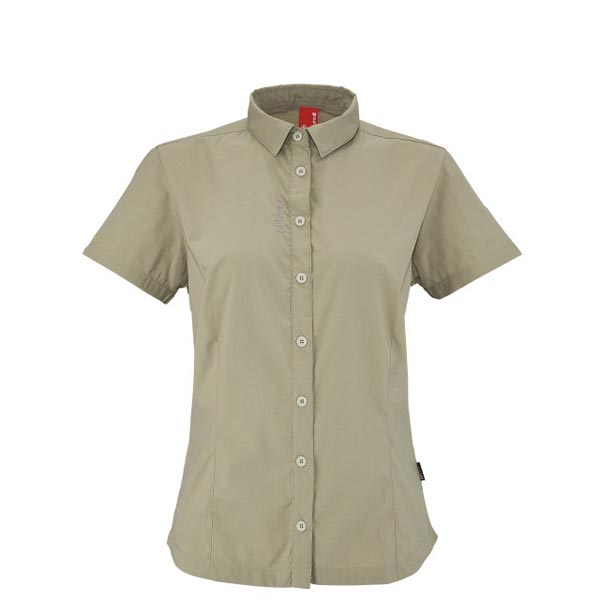 Women Lafuma fast hiking jacket ACCESS SHIRT Beige Outlet Online