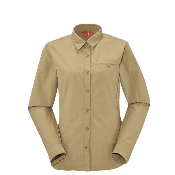 Cheap Lafuma EXPLORER SHIRT Beige Women Online