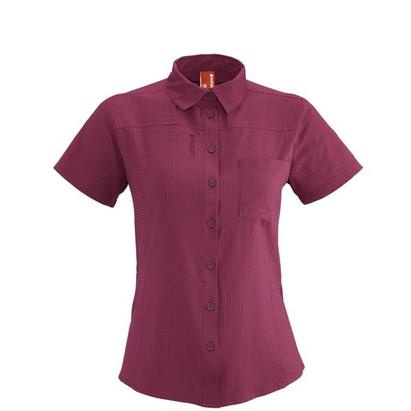 Women Lafuma hiking shirt TRACK SHIRT Rose Outlet Online