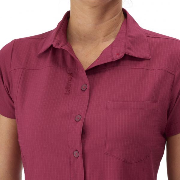 Lafuma Women hiking shirt TRACK SHIRT Rose On Sale