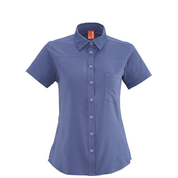 Lafuma Women hiking shirt TRACK SHIRT Violet On Sale