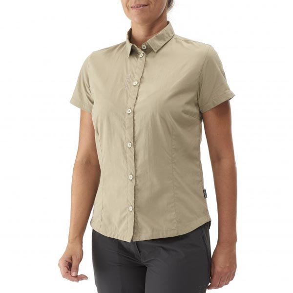 Lafuma Women fast hiking jacket ACCESS SHIRT Beige On Sale