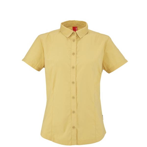 Women Lafuma fast hiking jacket ACCESS SHIRT Jaune Outlet Online