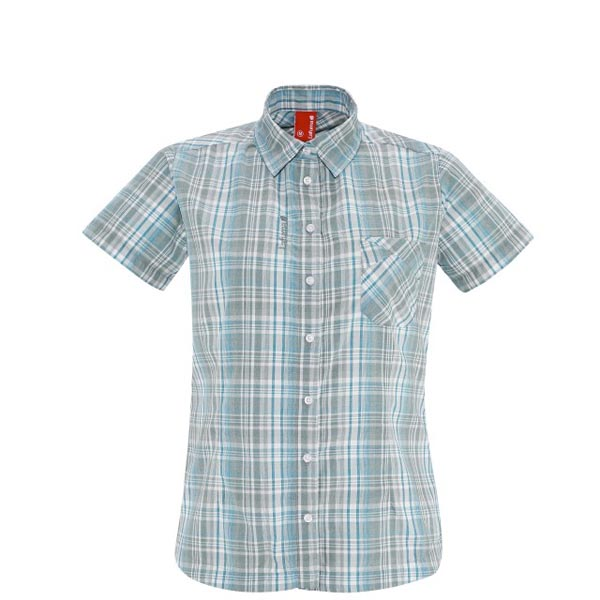 Lafuma Women hiking shirt RAMBLER SHIRT Turquoise On Sale