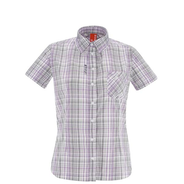 Women Lafuma hiking shirt RAMBLER SHIRT Gris Outlet Online