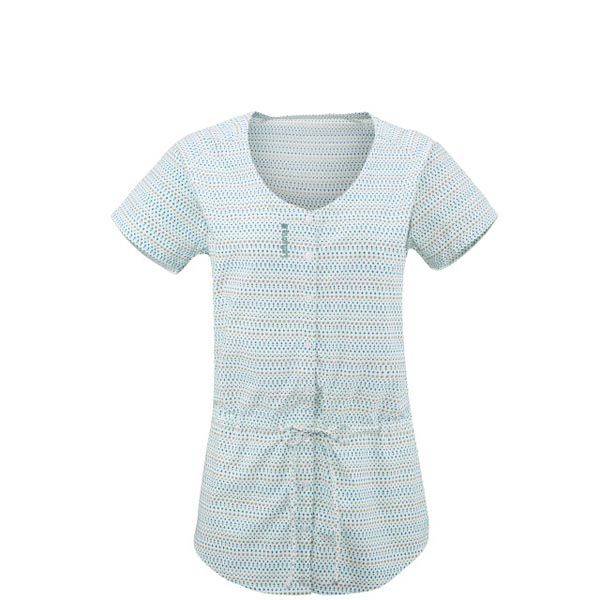 Women Lafuma travel shirt ESCAPER TUNIQUE Vert Outlet Online