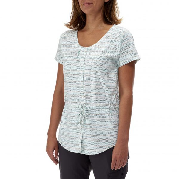 Lafuma Women travel shirt ESCAPER TUNIQUE Vert On Sale