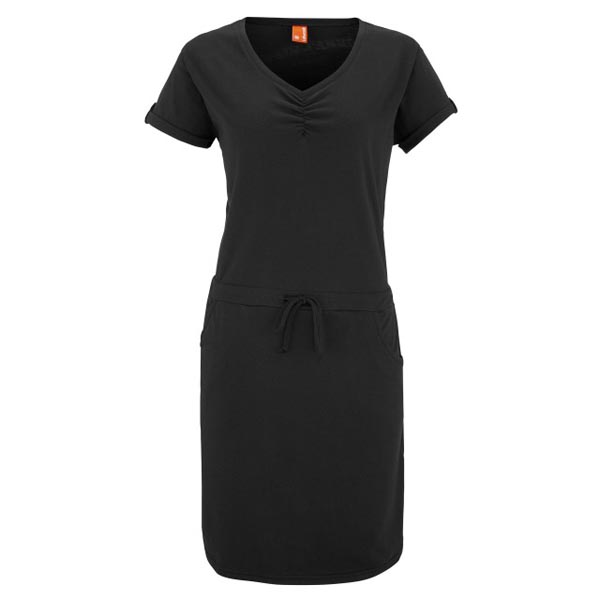 Women Lafuma travel dress TRAVELLER DRESS Noir Outlet Online