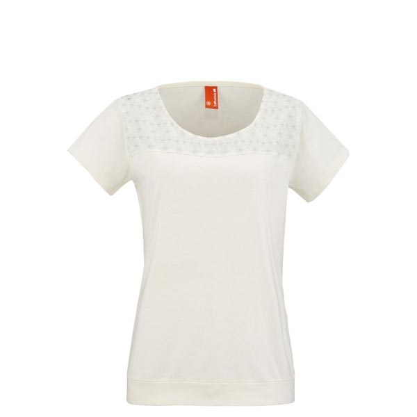Lafuma Women travel tee-shirt VOYAGER TEE Blanc On Sale