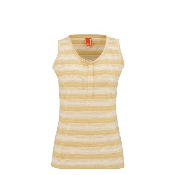 Lafuma Women travel tank ESCAPER TANK Jaune On Sale