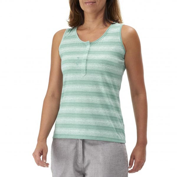 Lafuma Women travel tank ESCAPER TANK Vert On Sale