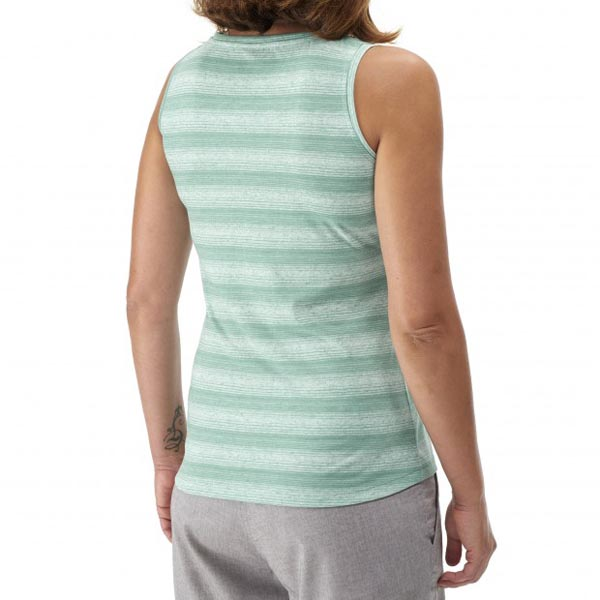 Women Lafuma travel tank ESCAPER TANK Vert Outlet Online