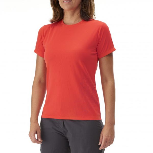 Lafuma Women trekking tee-shirt ACCESS TEE Rose On Sale