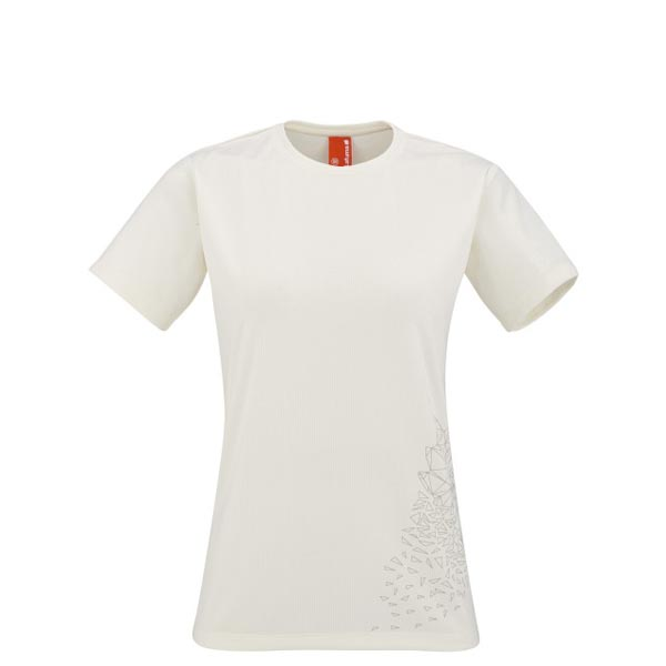 Lafuma Women trekking tee-shirt ACCESS TEE Blanc On Sale