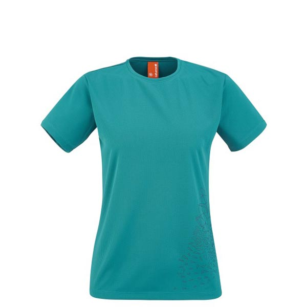 Lafuma Women trekking tee-shirt ACCESS TEE Turquoise On Sale